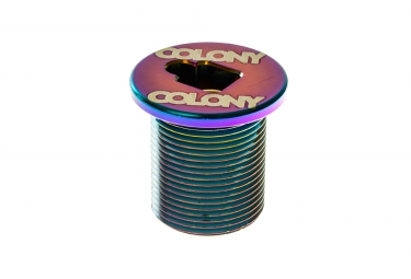 Tornillo superior de horquilla COLONY M25 x 1.5 Rainbow