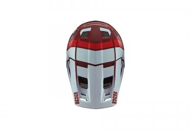 casque integral ixs xult blanc rouge s m 53 56 cm