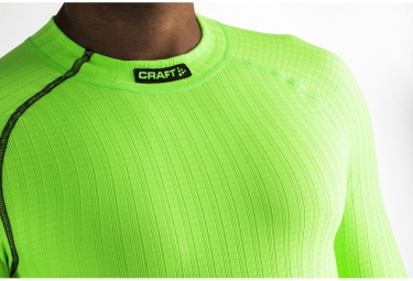 craft maillot manches longues be active extreme vert xxl