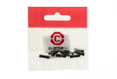 CLARKS Embout Cable de Frein Noir (vendu par 10)