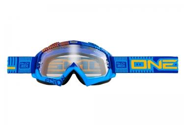 Masque O´Neal B-FLEX ETR Transparent Bleu