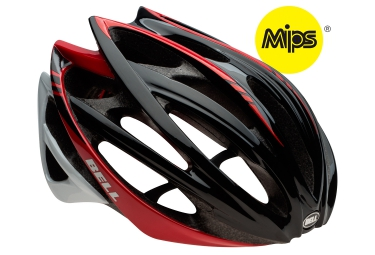 casque bell gage mips noir rouge s 52 56 cm