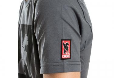 CHROME T Shirt AMERICAN MADE Gris Foncé