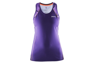 Craft debardeur focus run cool sublimated dynasty lila femme m