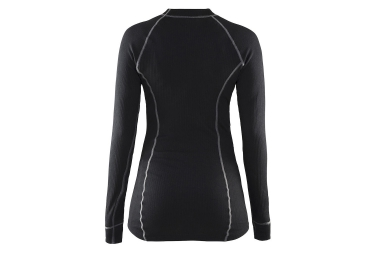 craft maillot manches longues be active noir femme l