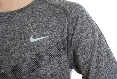 nike maillot dri fit knit gris homme xl