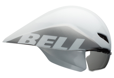 casque bell javelin blanc argent m 55 59 cm