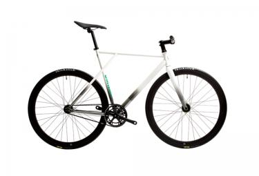 POLOANDBIKE Vélo Complet Fixie CMNDR NIMBUS Blanc