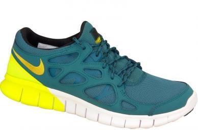 détaillant en ligne c6914 b3abf Nike Free Run 2 537732-301 Homme Chaussures de running Bleu