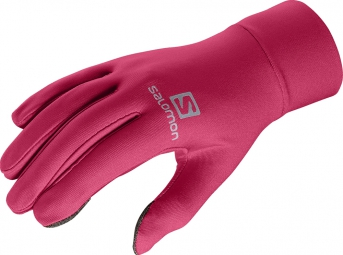 Salomon ACTIVE GLOVE U Gloves - Rose