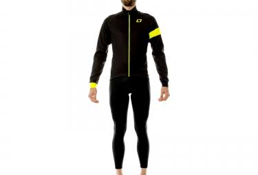 isano veste manches longues winter is 8 0 reflex noir fluo xl