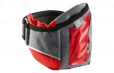 SALOMON Brassard PARK MEDIA Gris/Rouge