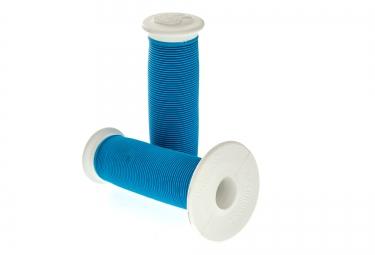 ODI Mushroom II Grips Blue White