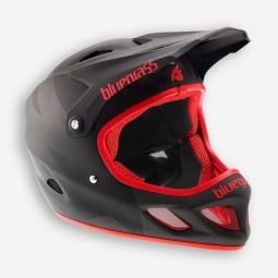 casque integral bluegrass explicit noir rouge xl 60 62 cm