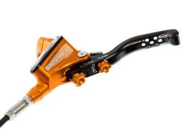 hope frein avant tech 3 x2 durite standard orange sans disque ni adaptateur