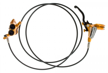Hope frein arriere tech 3 e4 orange durite standard sans disque ni adaptateur
