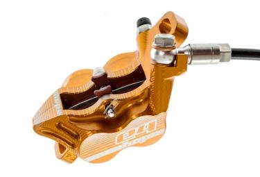 HOPE Frein Arrière Tech 3 E4 Orange Durite Standard - Sans disque ni adaptateur