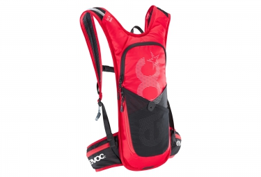 Evoc sac vtt cross country 3l race poche 2l rouge noir
