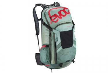 evoc sac a dos protector trail team 20l vert s
