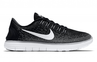 Nike free run distance noir gris 36