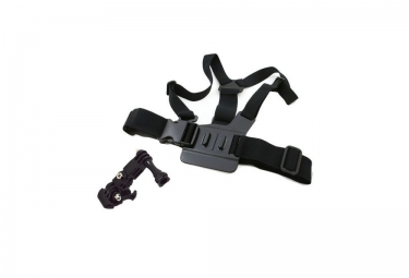 Radcam fixation camera harnais accessoires noir