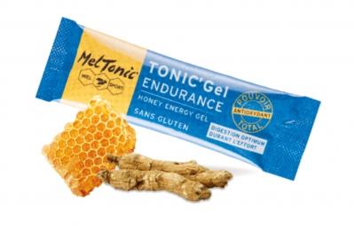 MELTONIC 8 Gels énergétiques ULTRA ENDURANCE Miel Ginseng Orange