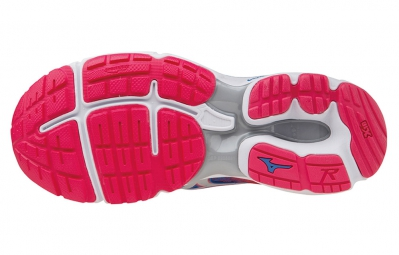 MIZUNO WAVE RIDER 19 Bleu Rose