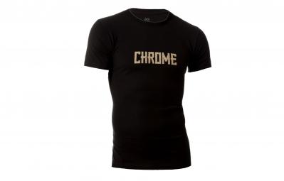 CHROME Tshirt Text Noir