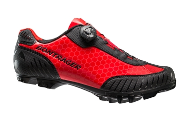Chaussures vtt bontrager foray rouge 41