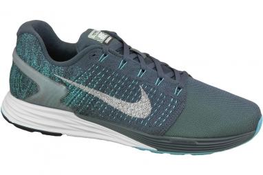 differently super popular closer at Nike Lunarglide 7 Flash 803566-400 Homme Chaussures de running Bleu