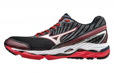 Chaussures de Running Mizuno WAVE PARADOX 2 Noir / Rouge