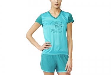 adidas t shirt response femme vert m