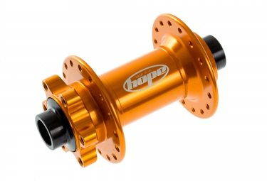 HOPE Moyeu Avant Pro 2 EVO 32H 110 15mm Boost Orange