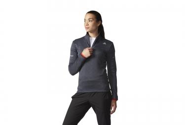 Adidas t shirt femme climaheat gris l