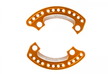 hope paire de protection de plateau 1 4 bash plate 104 mm orange 34