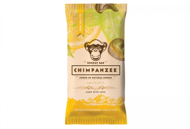 CHIMPANZEE Barre 100% naturelle Citron SANS GLUTEN