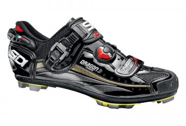 Chaussures vtt sidi dragon 3 noir verni 40