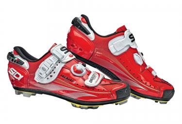 Chaussures VTT Sidi Dragon 3 2015 rouge verni
