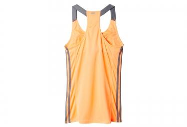 adidas debardeur response femme orange 38