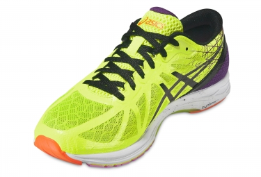 Chaussures de Running Asics Gel DS RACER 11 Jaune / Violet