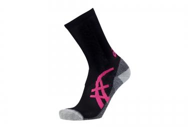 ASICS Socks FUJITRAIL Black Pink