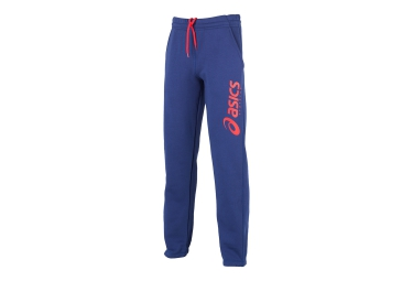 asics pantalon performance bleu orange homme xs