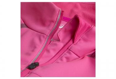 asics veste softshell lite show rose femme xs