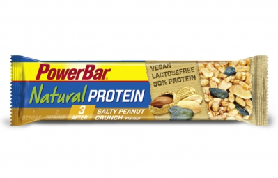 powerbar barre natural protein 40gr cacahuetes