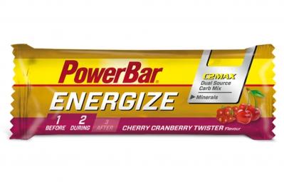 POWERBAR Barre ENERGIZE C2Max 55gr Cerise Cranberry