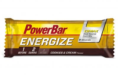 powerbar barre energize c2max 55gr cookies cream
