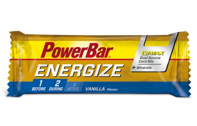 POWERBAR Barre ENERGIZE Vanille  C2MAX 55 g
