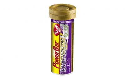 powerbar 5 electrolytes 10 comprimes cassis