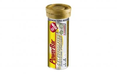Powerbar 5 electrolytes 10 comprimes citron tonic