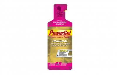 POWERBAR Gel POWERGEL ORIGINAL 41gr Fraise Banane